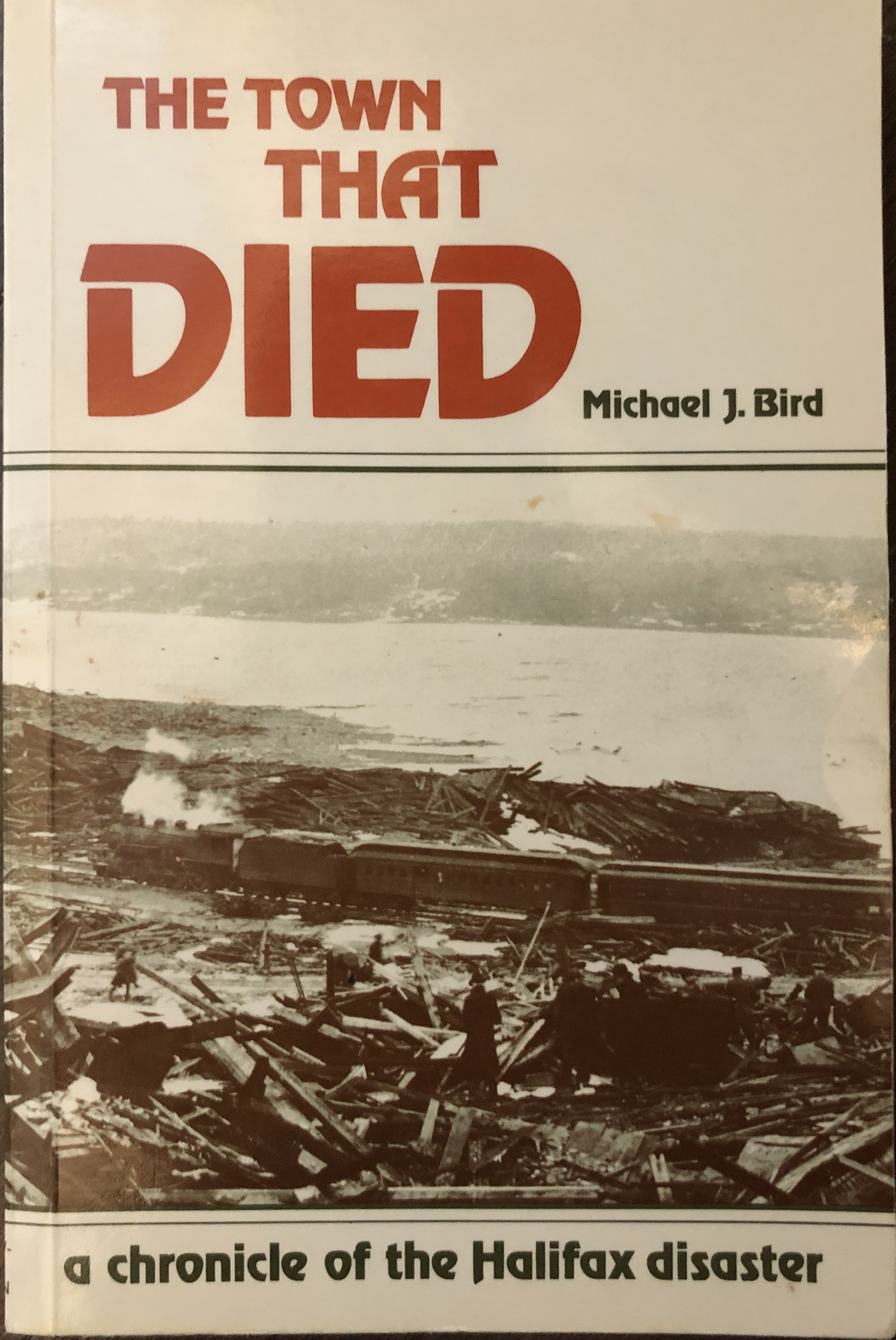 Image for The Town That Died: The True Story of the Greatest Man-Made Explosion Before Hiroshima--A Chronicle of the Halifax Disaster