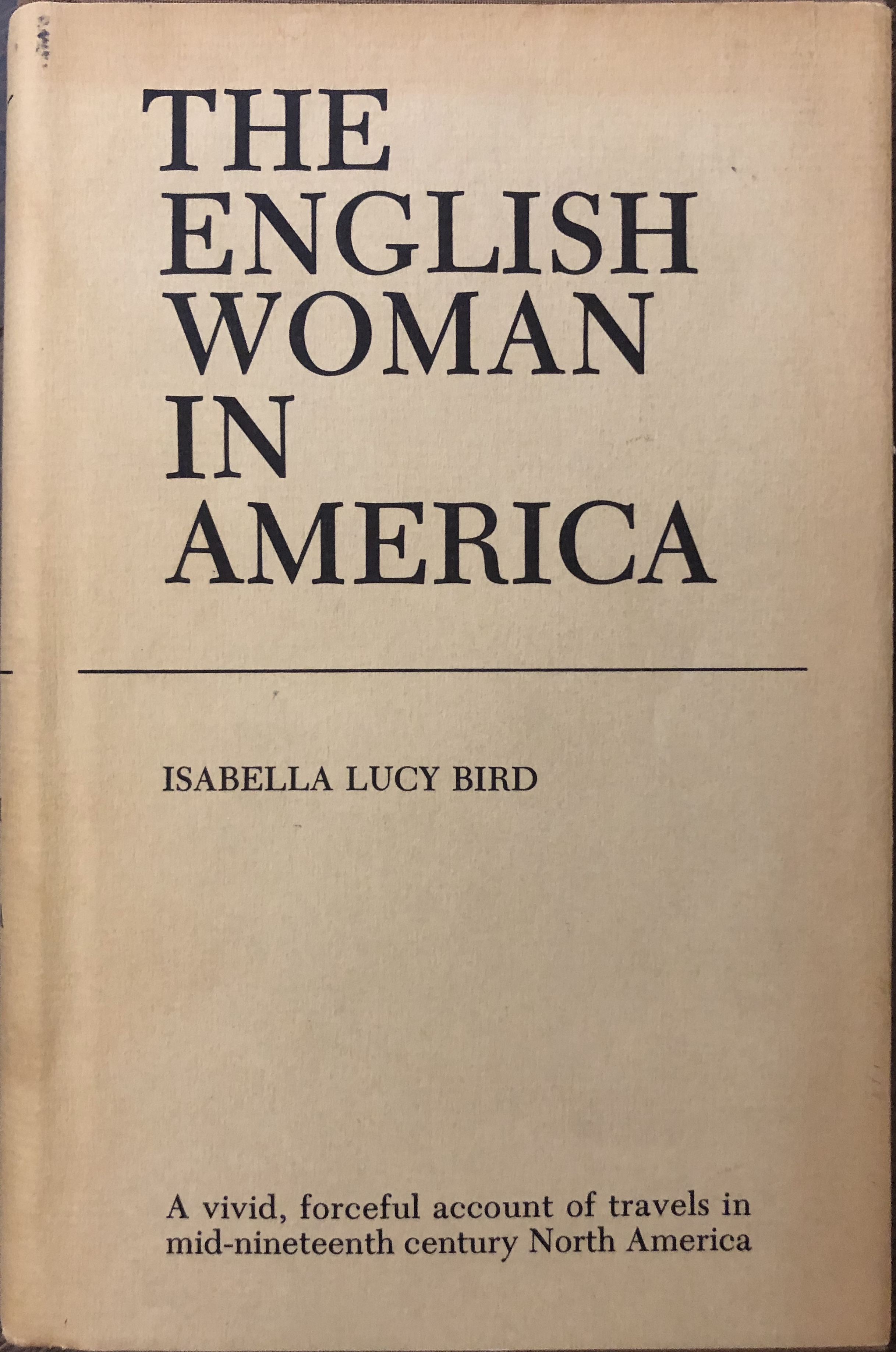 Image for The English Woman In America